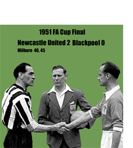 1951 FA Cup Final (Greetings Card)