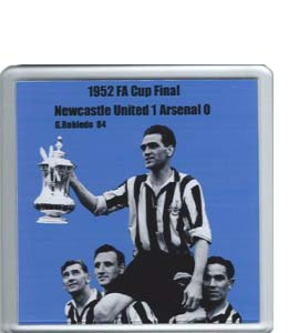1952 FA Cup Final Newcastle United v Arsenal (Coaster)
