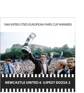 1968 Inter Cities European Fairs Cup Winners (Greetings Card)