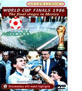 1986 World Cup Finals - The Final Stages (DVD)
