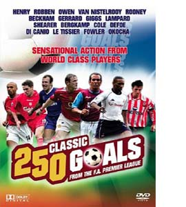 250 Classic Goals - From The F.A. Premier League  (DVD)