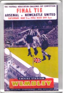 1952 FA Cup Final (Fridge Magnet)