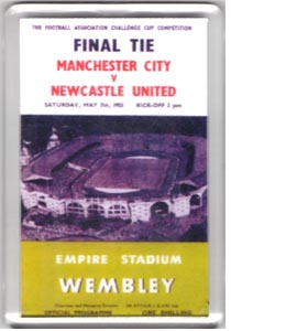 1955 FA Cup Final (Fridge Magnet)
