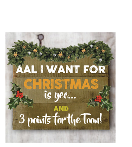 Aal i Want for Christmas is Yee... (Greetings Card)