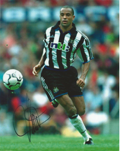 Alain Goma Newcastle Photo (Signed)