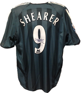Alan Shearer Newcastle United Shirt 2005/06 (Match-Worn)