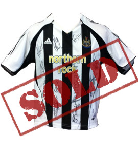 Alan Shearer Newcastle United 2006/07 Home Shirt (Signed)