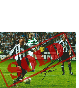 Alan Shearer Newcastle Photo (Signed)