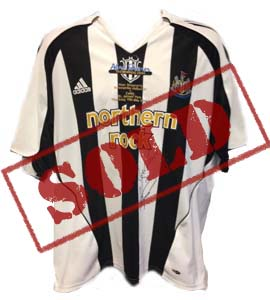 Alan Shearer Testimonial Shirt (Signed)