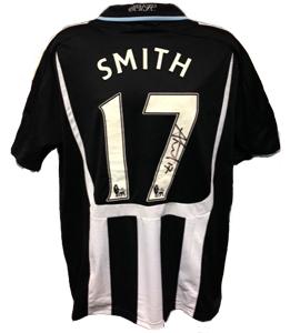 Alan Smith Newcastle United Shirt 2007/08 (Match-Worn)