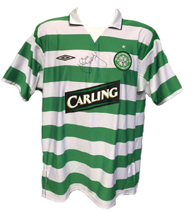 Alan Thompson Celtic 2004/05 Home Shirt (Signed)