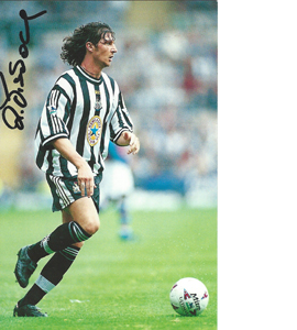 Alessandro Pistone Newcastle Photo (Signed)