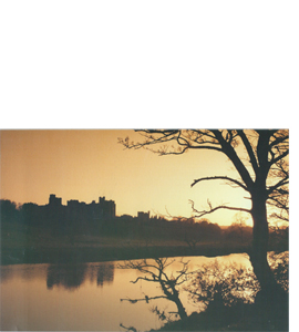 Alnwick Castle, Northumberland (Greeting Card)