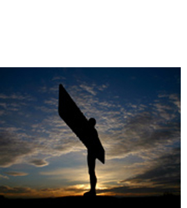 Angel Of The North, Tyneside (Greeting Card)