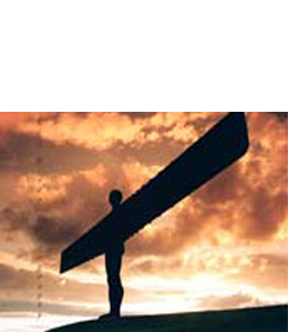 Angel Of The North (Greeting Card)