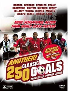 Another 250 Classic Goals - From The F.A. Premier League (DVD)