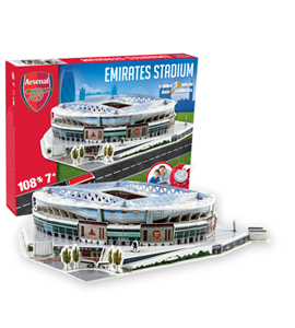 Arsenal 3D Emirates Stadium Puzzle