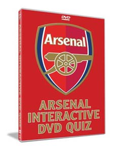 Arsenal Interactive Quiz (DVD)