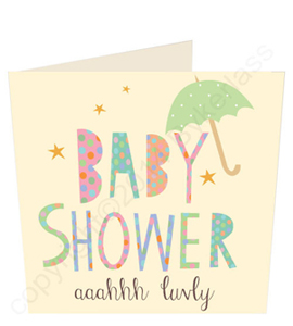 Baby Shower - Geordie Card