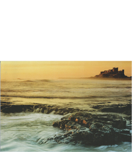 Bamburgh Castle, Northumberland Coast (Greeting Card)