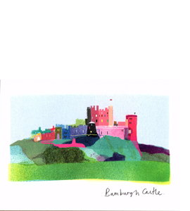 Bamburgh Castle (Greetings Card)