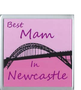Best Mam in Newcastle Coaster