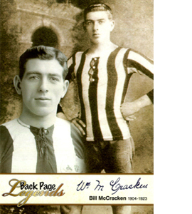 Bill McCracken Newcastle United Legends (Postcards)
