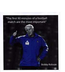 Bobby Robson (Greetings Card)