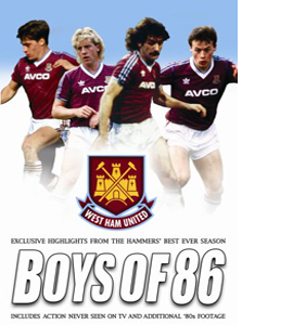 Boys of 86 - West Ham United (DVD)