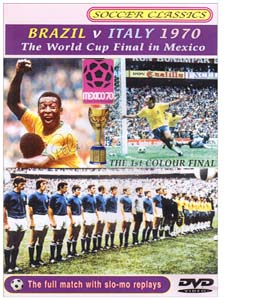 Brazil v Italy 1970 World Cup Final (DVD)