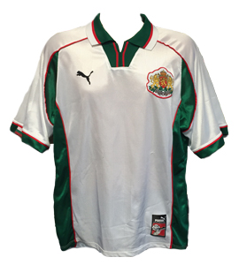 Bulgaria 1998-00 Home Shirt