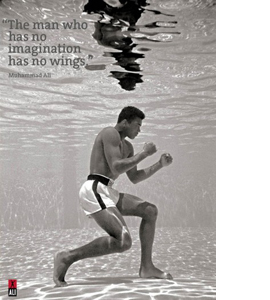 Cassius Clay Underwater (Greeting Card)