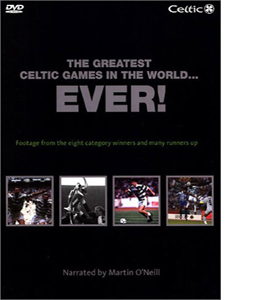 Celtic FC - The Greatest Celtic Games In The World Ever! (DVD)