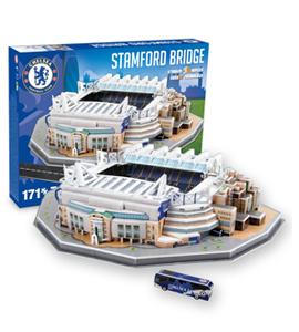 Chelsea 3D Stamford Bridge Stadium Puzzle