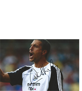 Chris Hughton Newcastle Photo (Signed)