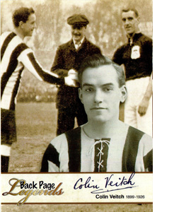 Colin Veitch Newcastle United Legends (Postcard)