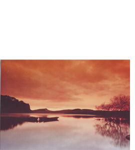 Crag Lough, Northumberland (Greeting Card)