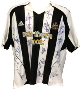Craig Moore Newcastle United Shirt 2006/07 (Match-Worn)