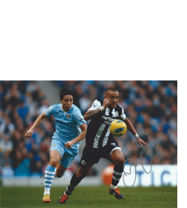 Danny Simpson Newcastle Photo (Signed)