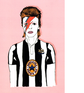 David Bowie Newcastle (Greetings Card)
