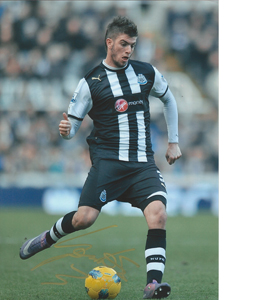 Davide Santon Newcastle Photo (Signed)