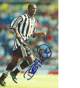 Des Hamilton Newcastle Photo (Signed)