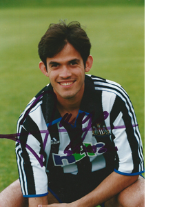 Diego Gavilán Newcastle Photo (Signed)