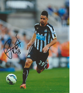 Emmanuel Rivière Newcastle Photo (Signed)