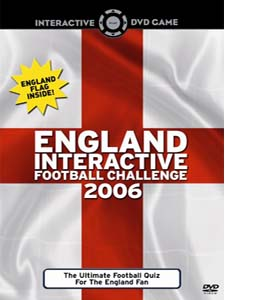 England Interactive Football Challenge (DVD)