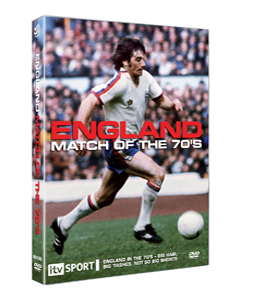 England Matches of the 70s (DVD)
