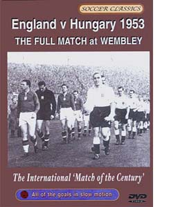 England V Hungary - Wembley 1953 (DVD)