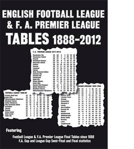 English Football League And F.A. Premier League Tables 1888-2012