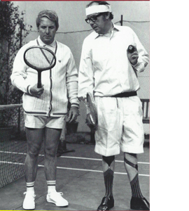 Eric Morecambe & Ernie Wise, Tennis (Greeting Card)