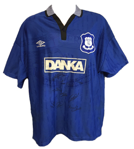 Everton 1996/97 Home Shirt (Signed)